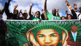 Day Of Remembrance Peace Walk Held In Honor Of Trayvon Martin