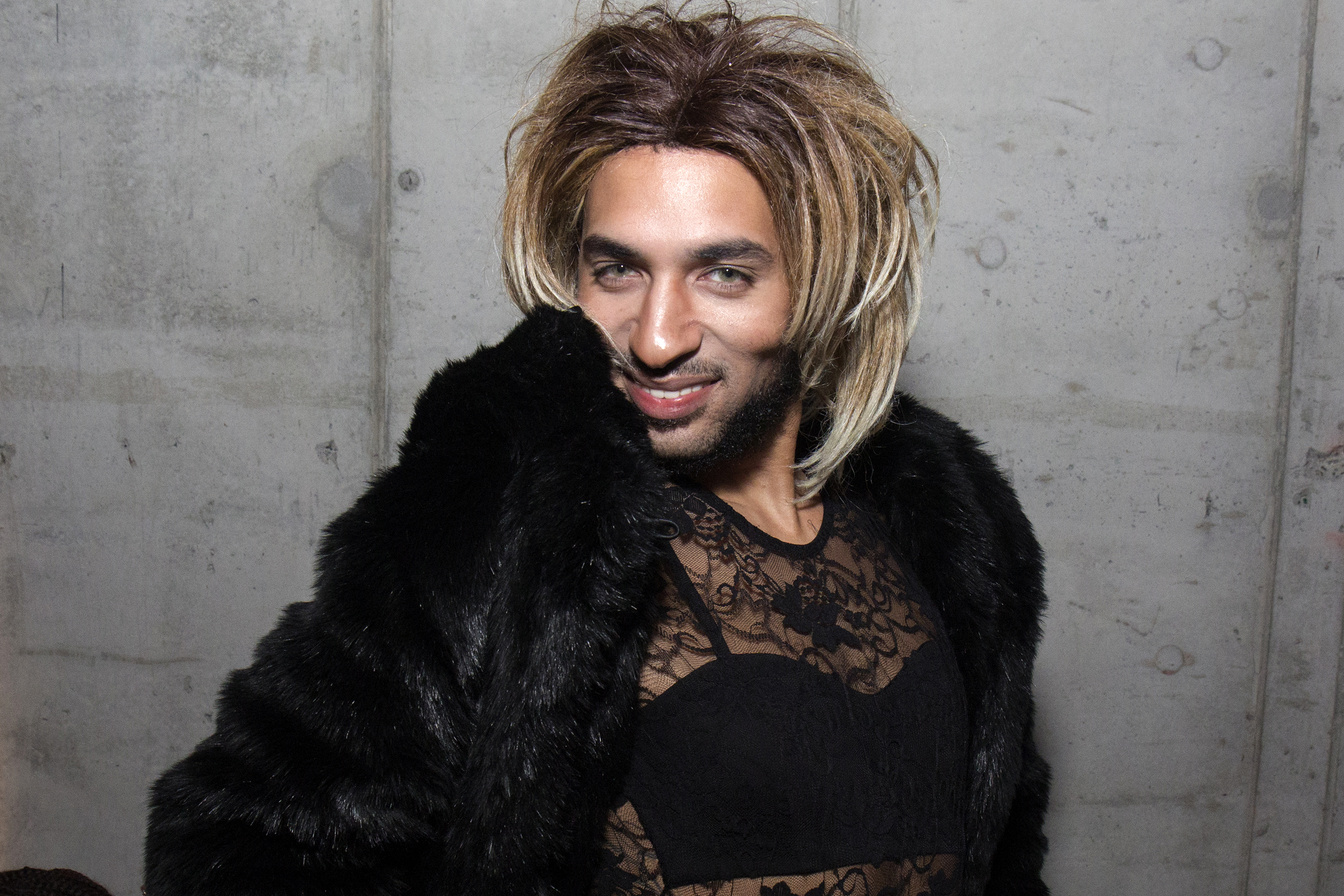 Joanne The Scammer Performs At 'Something Special'