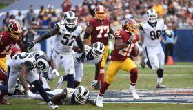 NFL-Washington Redskins at Los Angeles Rams