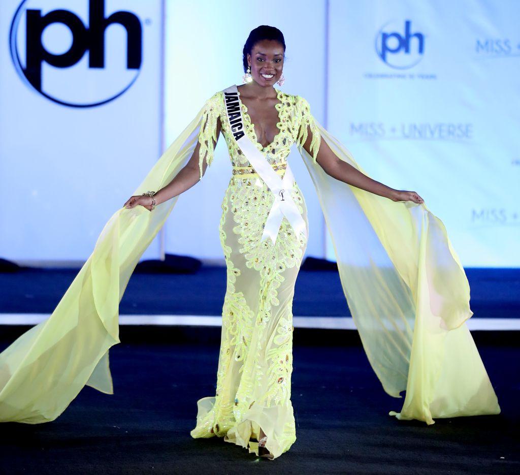 Miss Universe Jamaica Davina Bennett