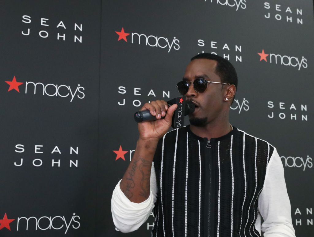 Sean John Fragrance Launch