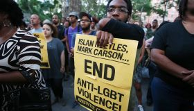 Vigil Held For Transgender Woman Beaten And Killed In Harlem