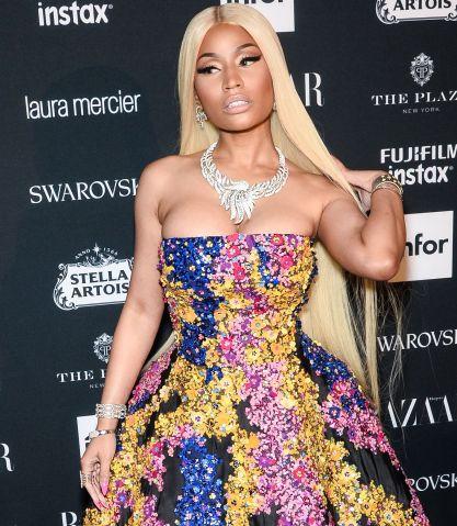Nicki Minaj attends Harper's BAZAAR Celebration of 'ICONS By Carine Roitfeld'