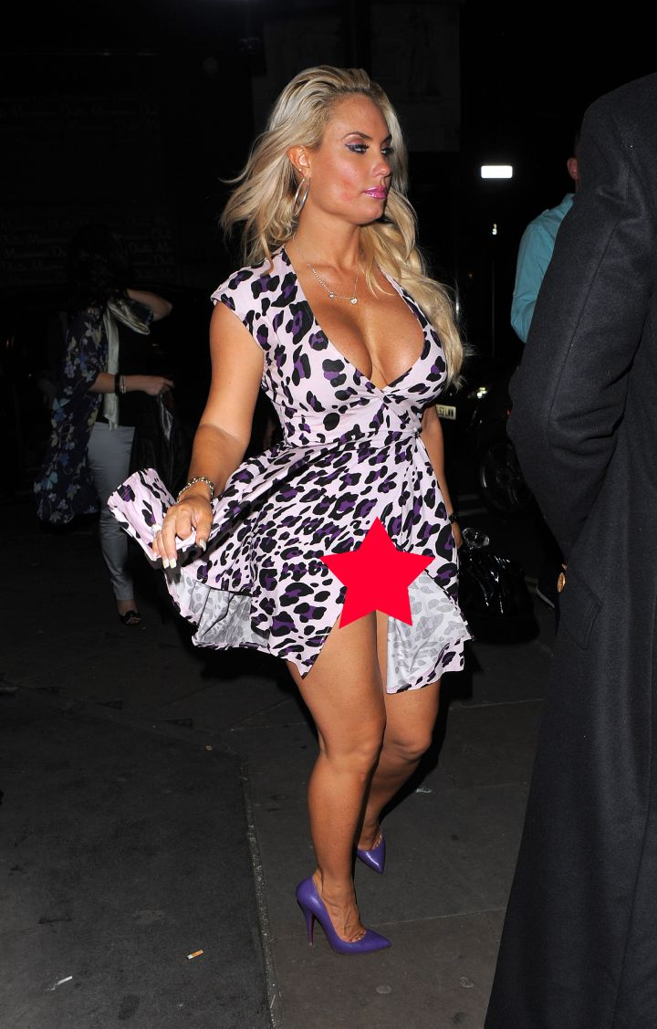 5. Coco has a major no panties slip while out in London with husband Ice-T || Photo credit: WENN