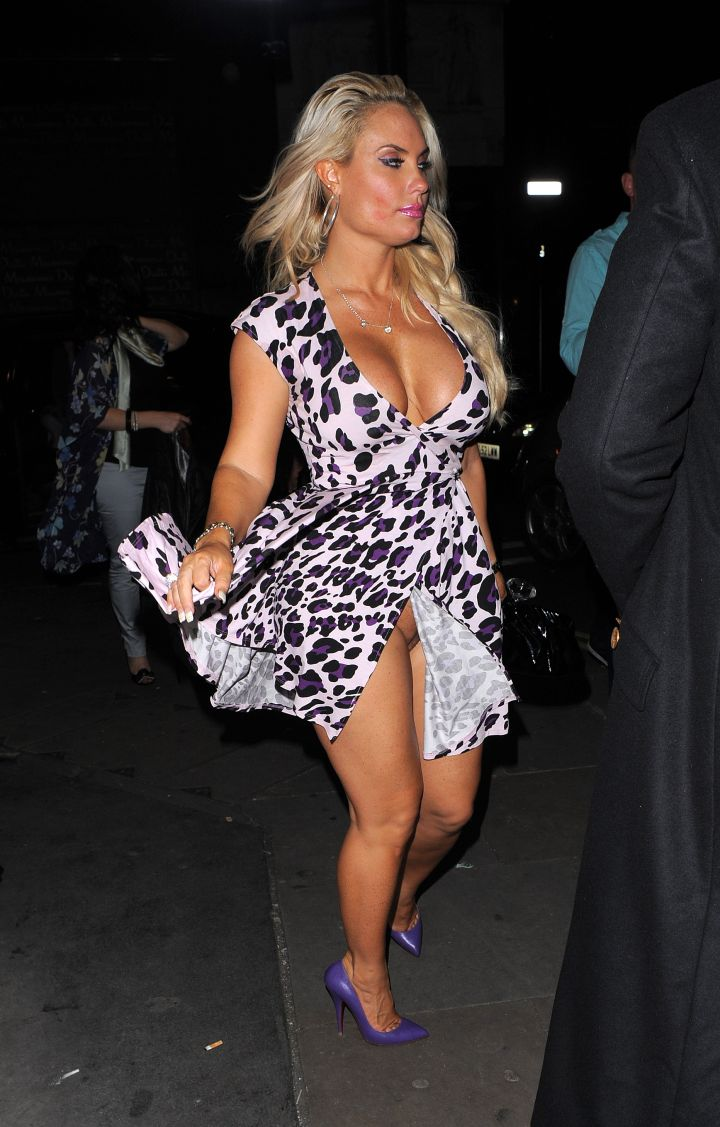 6. Coco has a major no panties slip while out in London with husband Ice-T || Photo credit: WENN