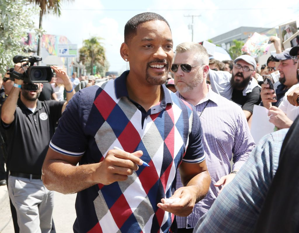 SUICIDE SQUAD Wynwood Block Party And Mural Reveal With Cast