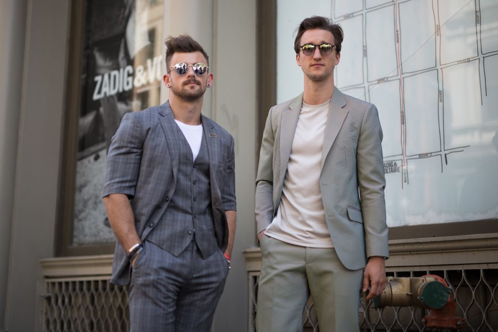 Street Style - New York Fashion Week: Men's S/S 2017 - Day 1