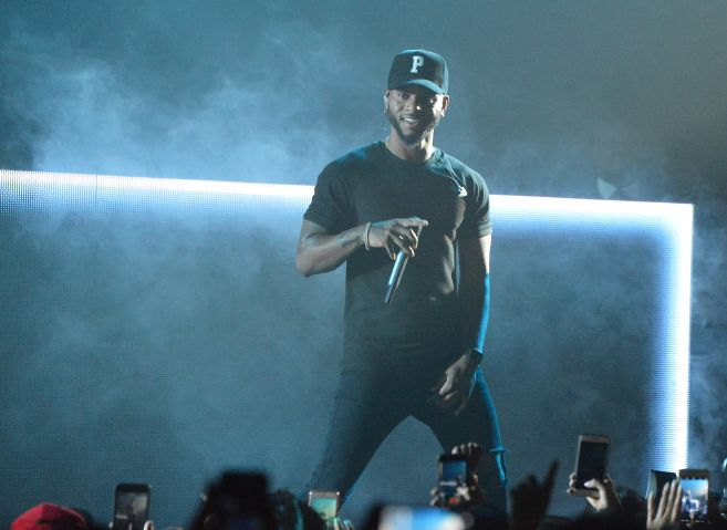 Bryson Tiller With Metro Boomin And H.E.R. In Concert At The Hard Rock In Las Vegas