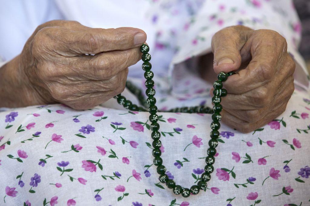 Russia's oldest person, 128-year-old Koka Istambulova