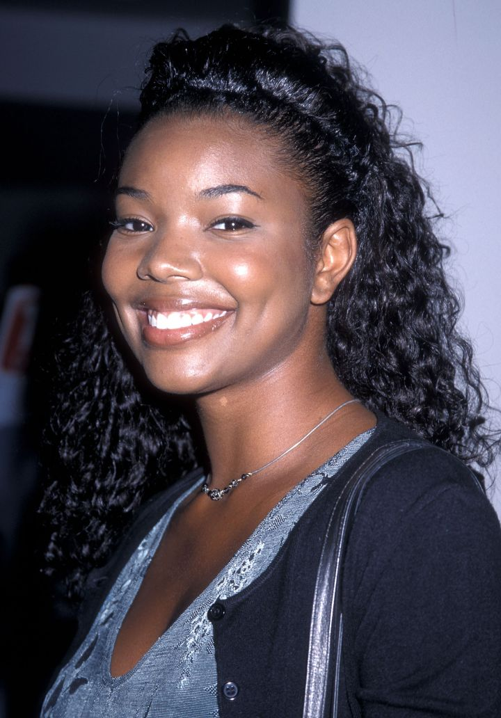 Gabrielle attends '45 Years of TV guide Covers' in 1998.