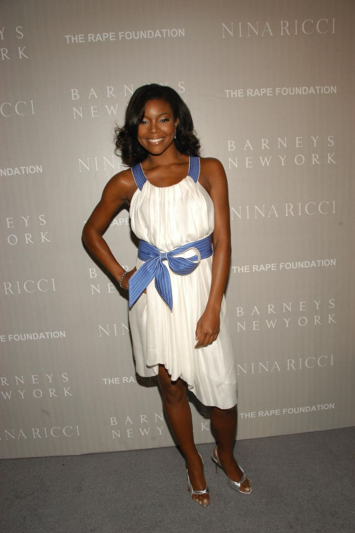 Gabby at a Barneys N.Y. Gala Dinner in 2006.
