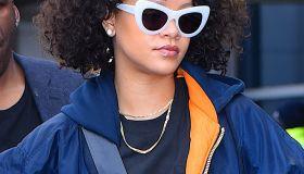 Celebrity Sightings in New York City - November 5, 2017