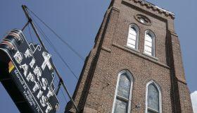 First Baptist Church exterior.