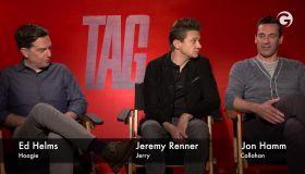 Ed Helms, Jeremy Renner and Jon Hamm