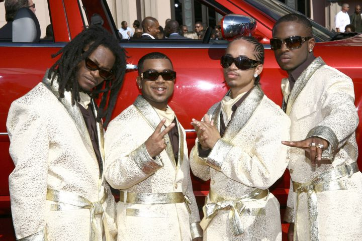 Pretty Ricky looked pretty hot in these get ups.