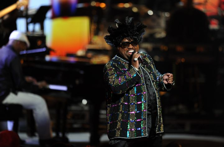 We kinda expect this from Cee-Lo now.