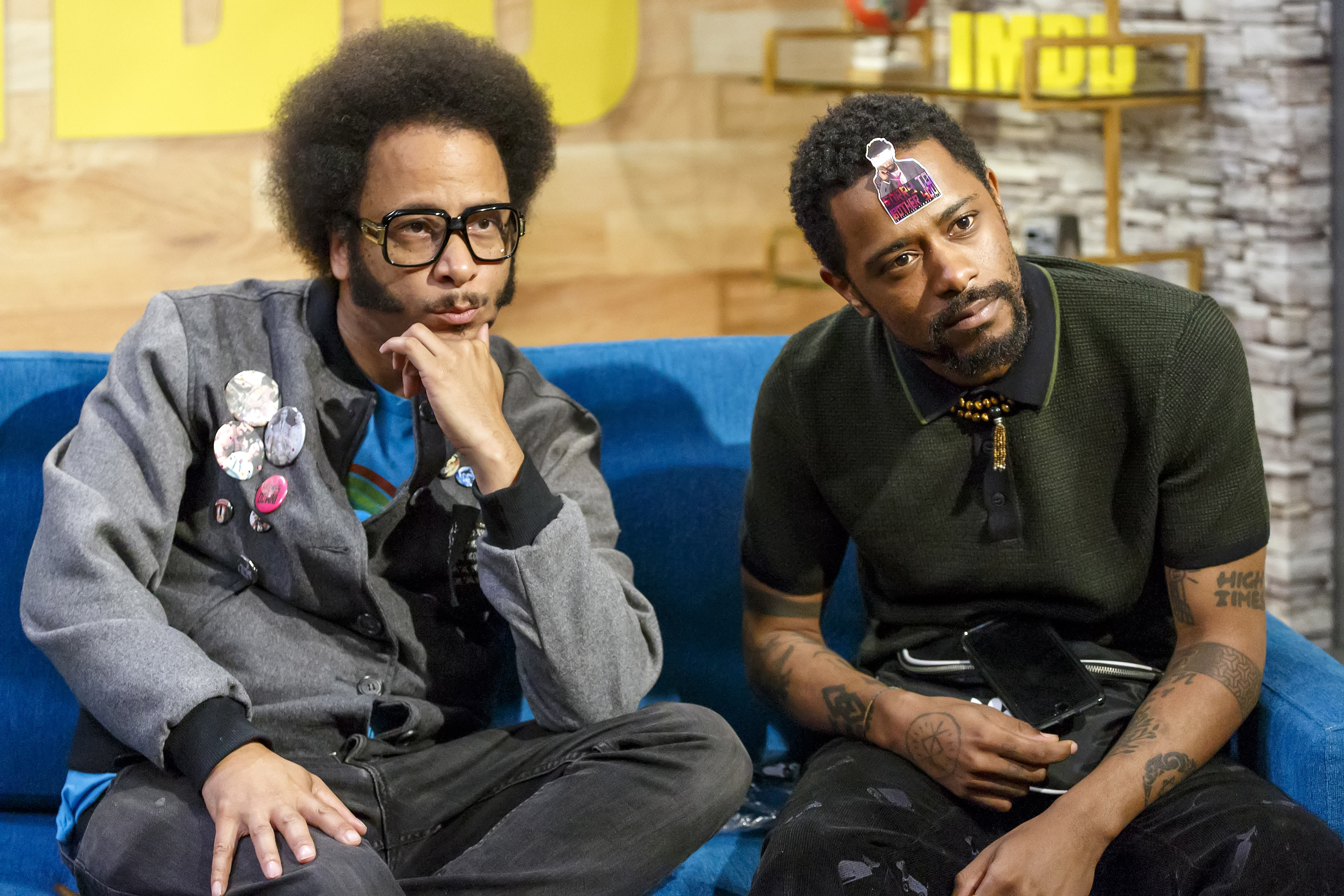 Cast of 'Sorry To Bother You' visits The IMDb Show