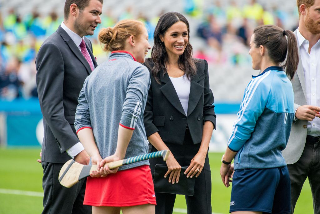 Prince Harry and Meghan Duchess of Sussex visit to Dublin, Ireland - 11 Jul 2018