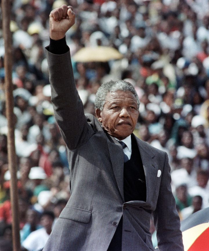 Mandela Gives A Powerful Speech After Being Released From Prison