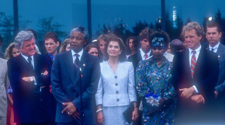 Mandela's meet the Kennedy's.