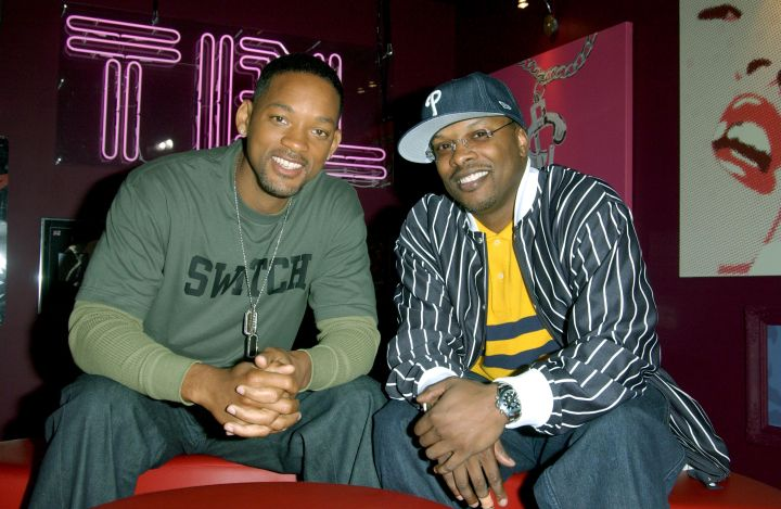 Will Smith and Jazzy hit TRL.