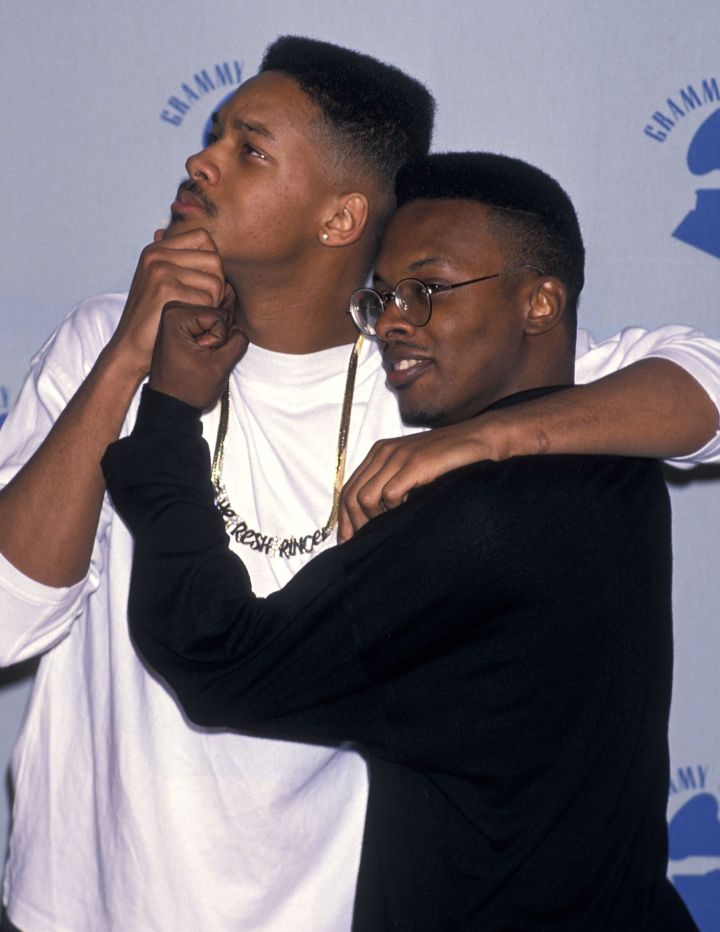Will and Jazz hit L.A. for The Grammys, circa 1990.