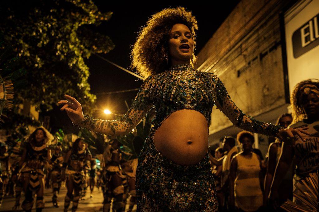 BRAZIL-CARNIVAL-RIO-PARADE-IMPERIO SERRANO