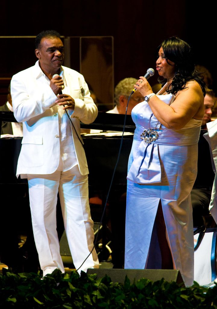 The Queen & Ron Isley