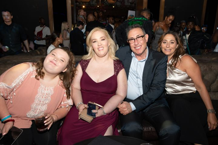 Honey Boo Boo, a slim Mama June and We TV President Marc Juris attended the festivities