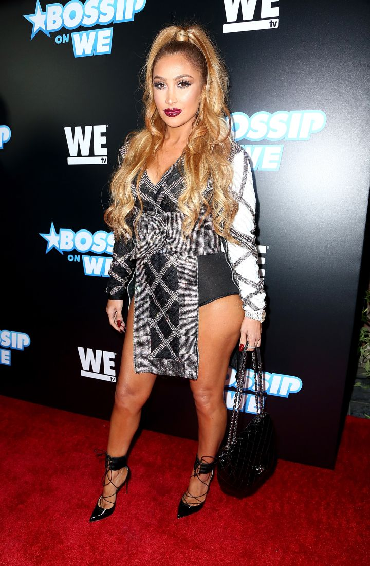 Angel Brinks gave us a major thigh moment