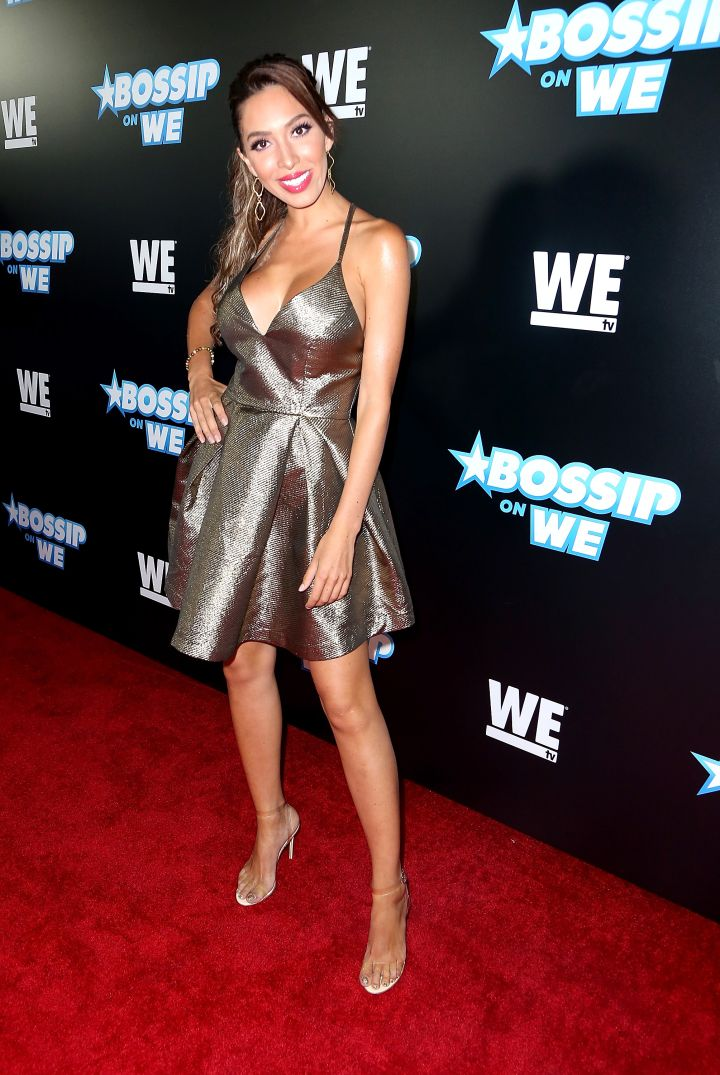 Farrah Abraham was there, giving face