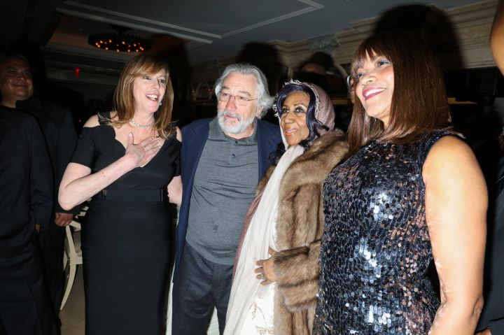 The Queen with Robert De Niro & Wife Grace Hightower