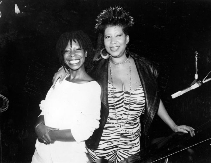 The Queen & Whoopie Goldberg