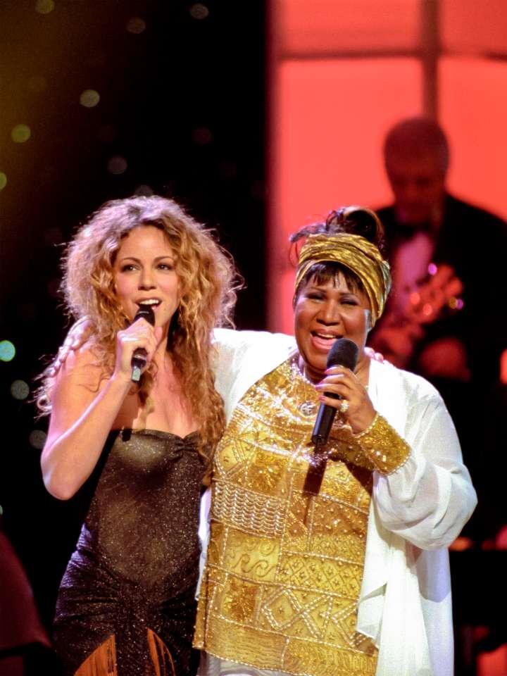 The Queen & Mariah Carey