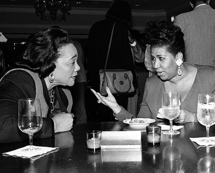 The Queen & Coretta Scott King