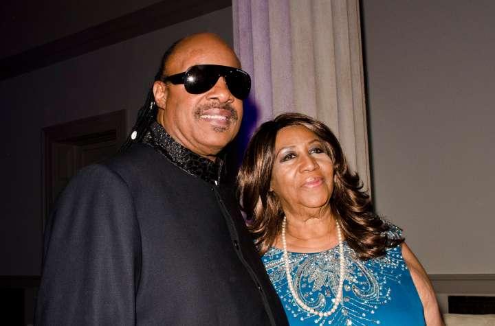The Queen & Stevie Wonder