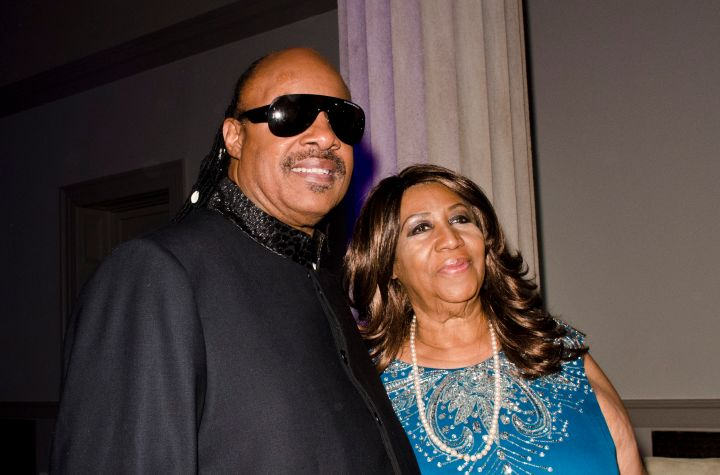 The Queen & Stevie Wonder