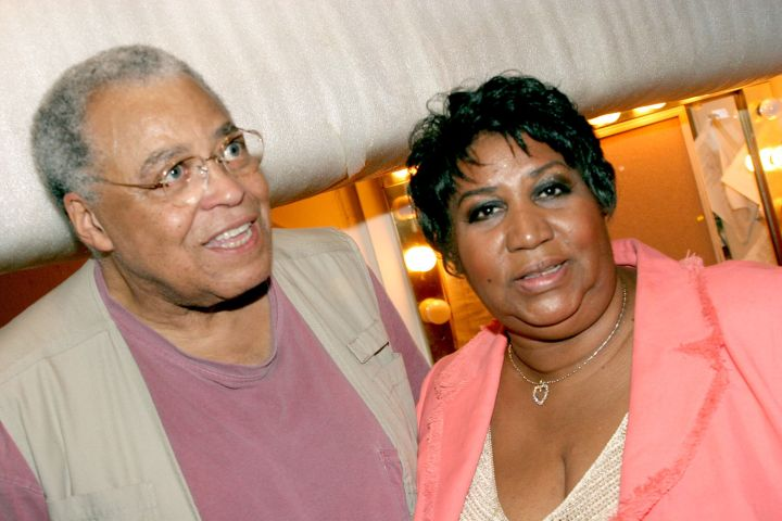The Queen & James Earl Jones
