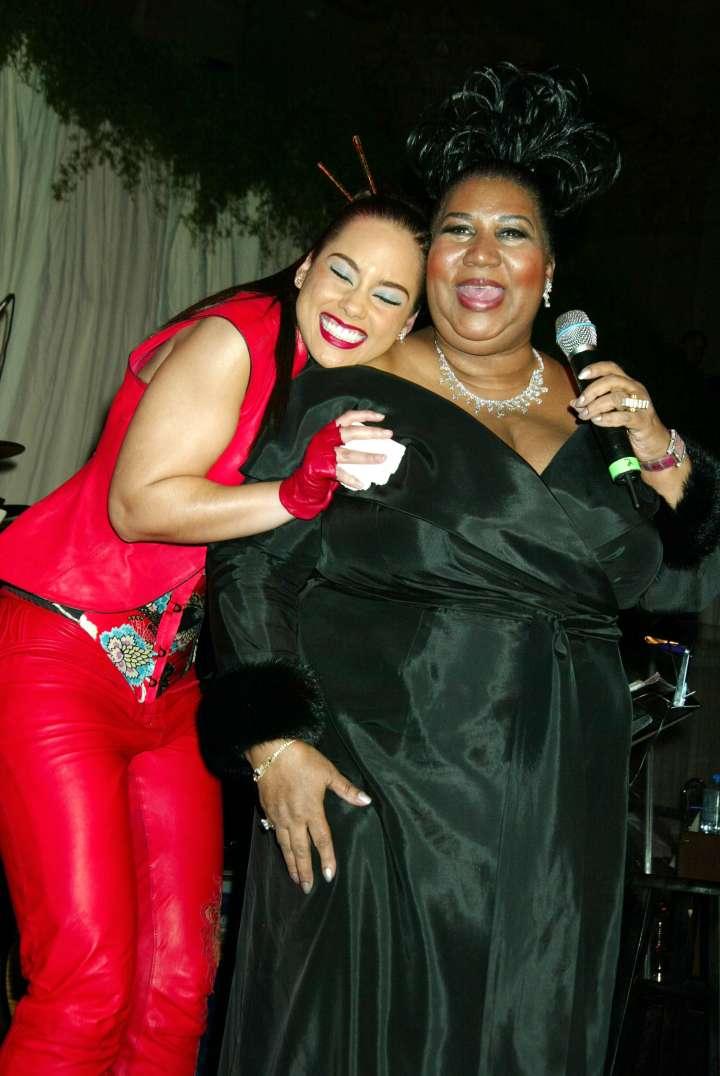 The Queen & Alicia Keys