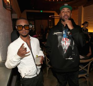 Mike Will Made It celebrates his birthday and the release of 'Ransom 2' at a DTS Play-Fi Dine In Sound event at WOLF Restaurant LA