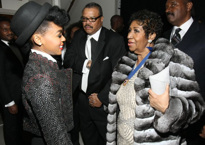 The Queen & Janelle Monae
