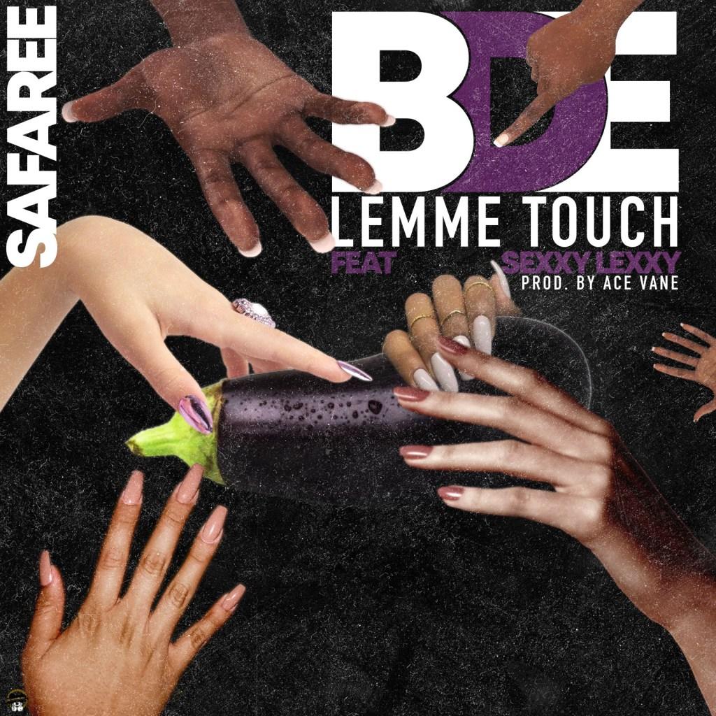 Safaree Samuels BDE (Let Me Touch) single artwork