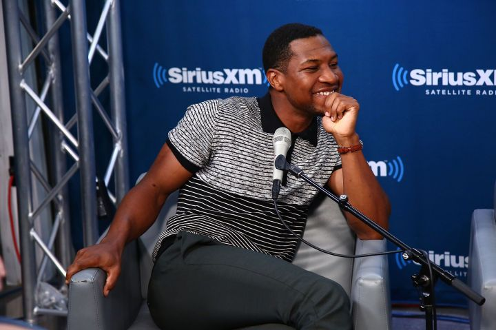Showing off his million-dollar smile at a SiriusXM Town Hall for the cast of 'White Boy Rick'
