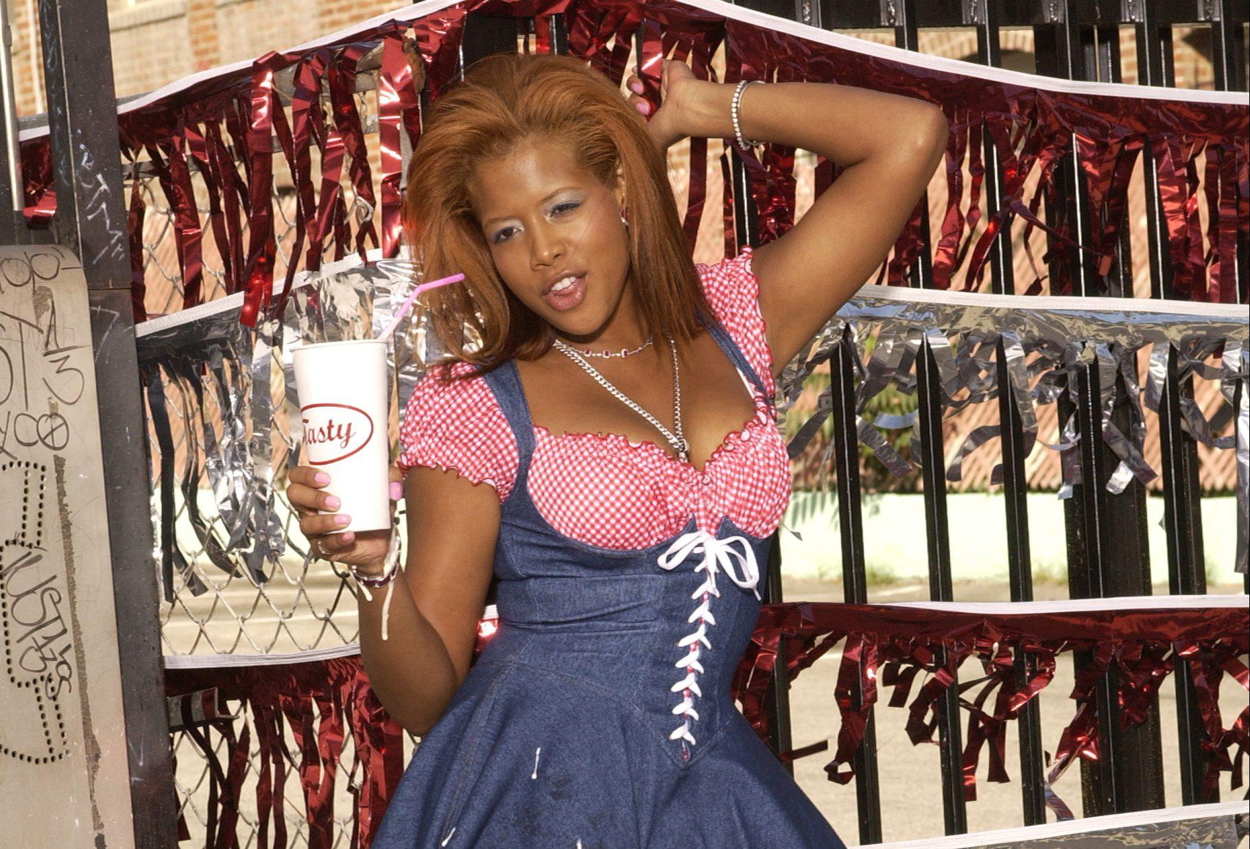 Kelis - Stills from the Video 'Milkshake'