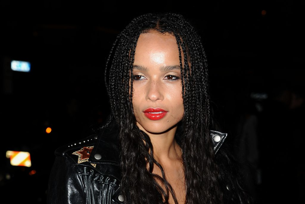 Zoe Kravitz Celebrates Her New Role With Yves Saint Laurent Beauty