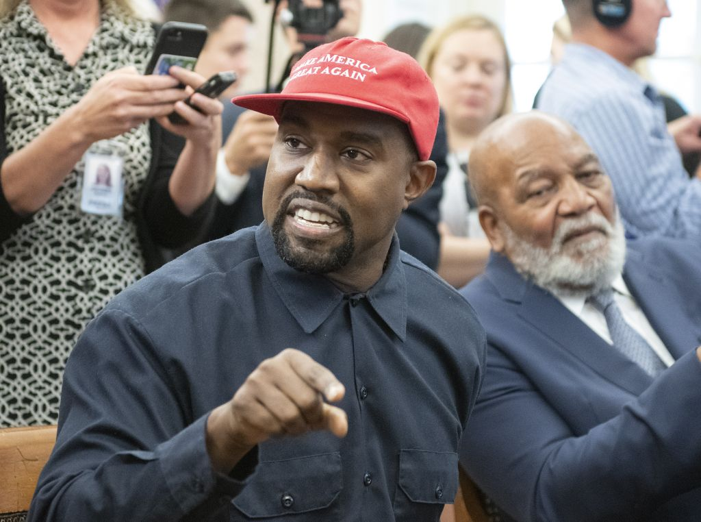 Kanye West White House 2018