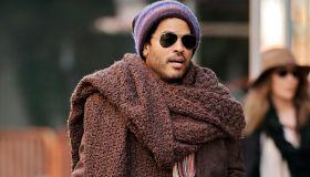 Lenny Kravitz Viral Scarf Photo 2012