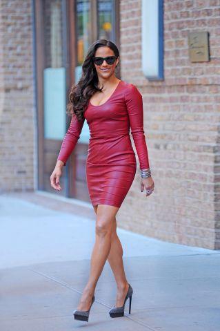 Celebrity Sightings in New York - September 18, 2013
