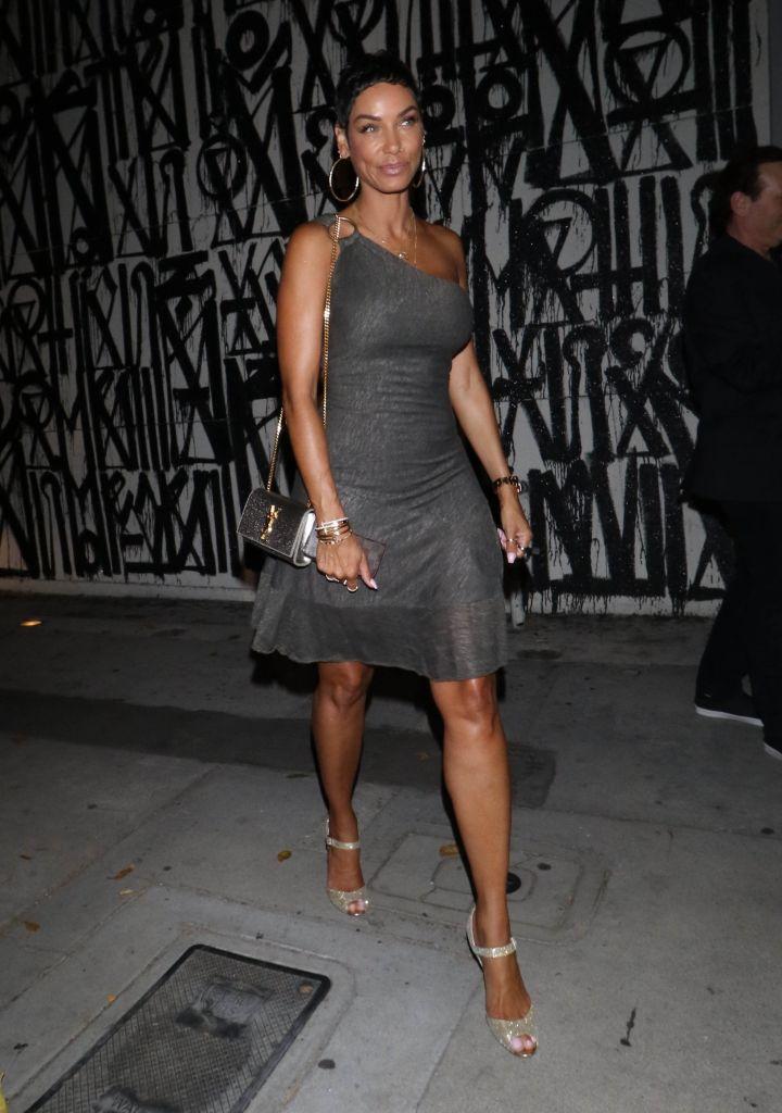 Nicole Murphy is seen in Los Angeles, CA.