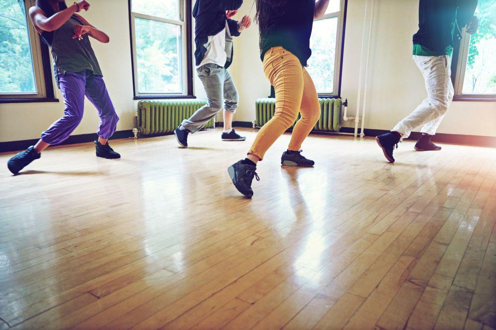 Get moving, get grooving